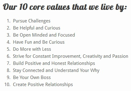 Read Domino Connection's core values for how they run their business.